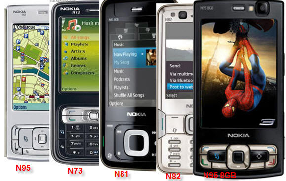 ����� ������ ����� Nokia N-Series games