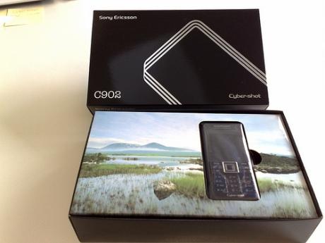 Sony Ericsson C902 Mobile Phone